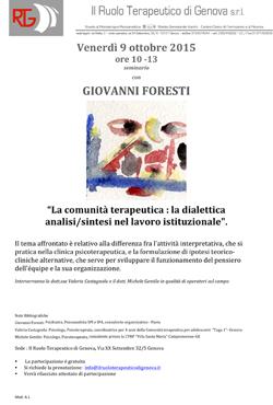 seminario Foresti